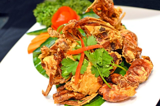 Salt & Pepper Soft Shell Crab